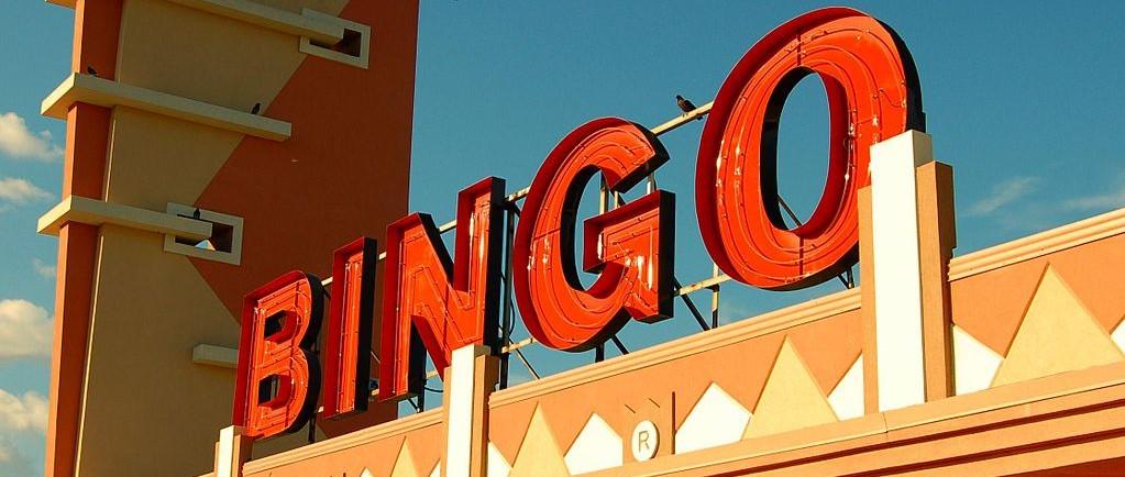 Image of a bingo sign