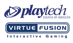 Playtech and Virtue Fusion logo