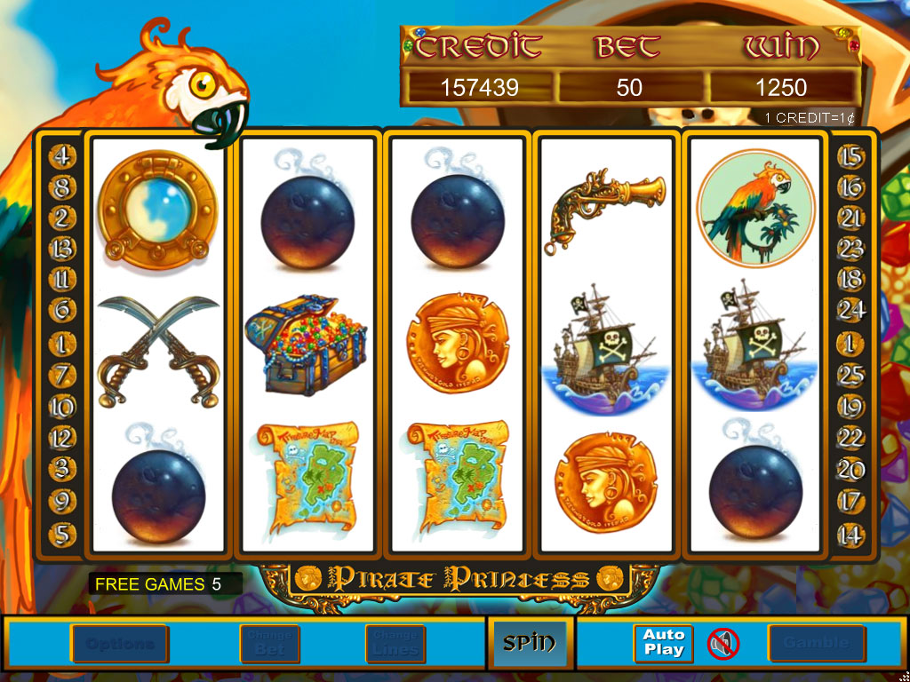 Pirate Princess Slots - Play Online for Free Instantly