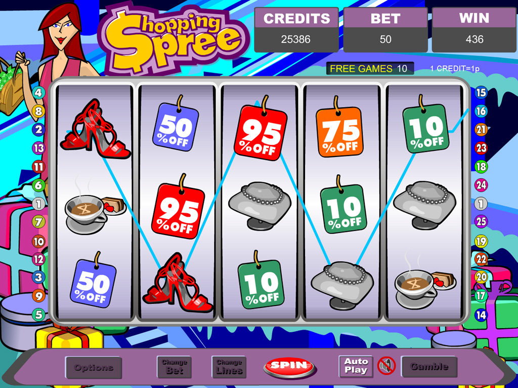 Cash & Carry: Shopping Spree Slot - Play it Now for Free